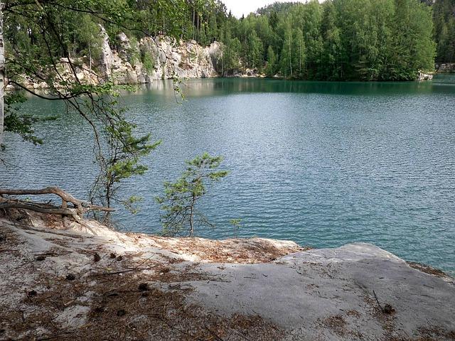 jezero Adršpach