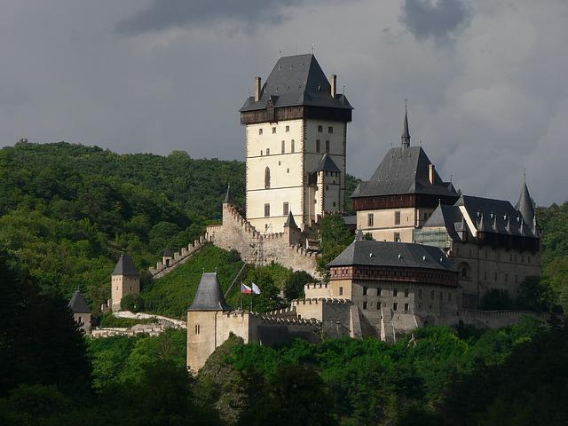hrad Karlštejn